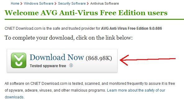 Free antivirus download – AVG 9 0 | security | Computer