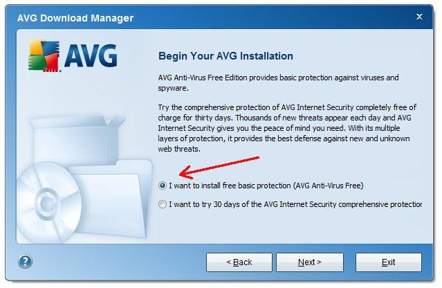 avg antivirus computer download