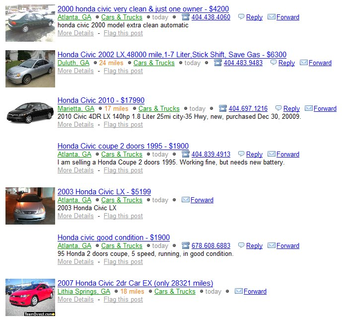 Craigslist Atlanta Trucks Under 1000 Autos Post
